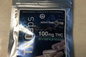Capsules - THC  PM - 10pk image