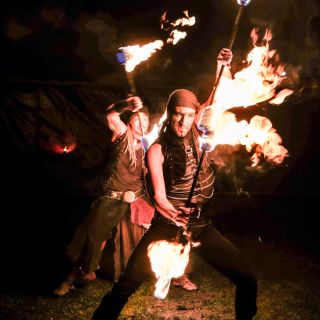 Mystic Fire Theater by JAGO & L-ION