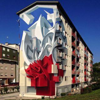 Murals and Paintings by Peeta