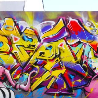 Mural / Graffiti por Le Funky