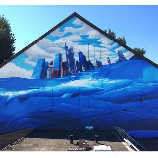 Wallpainting / Mural von COR