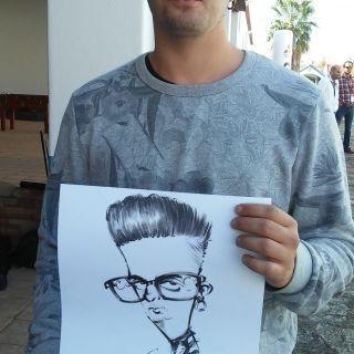 Caricaturas e Ilustração por Rui Duarte - RDdraft