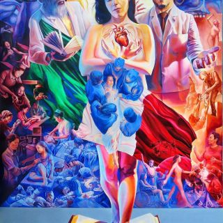 Hyperrealistic murals by Carlosalberto GH