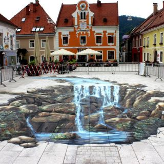 3D Street Painting and Murals by Manfred Stader