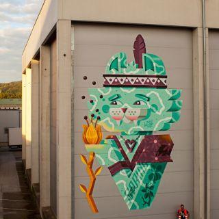 Wall Design and Graffiti von Vidam