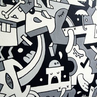 Interior Mural by Mister Phil