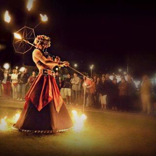 Fire Show by Quideia