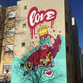 Arte de Rua por Vitó Julião