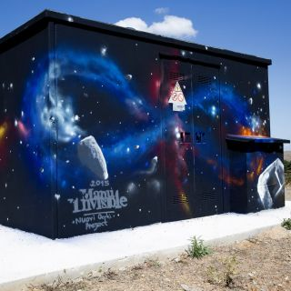 Street Art and exterior walls by Manu Invisible