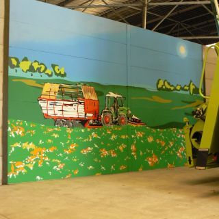 Wall painting by Martin Gerstenberger