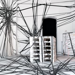 Art exhibitions  by Tape That