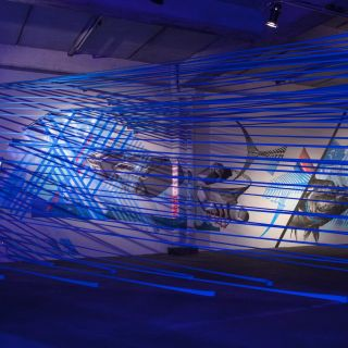 Tape Art Installations por TAPE OVER