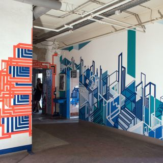 Tape Art Murals por TAPE OVER