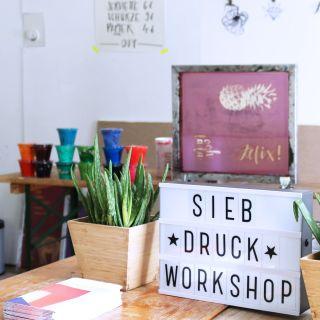 Mobile Siebdruck Werkstatt by Silberfabrik
