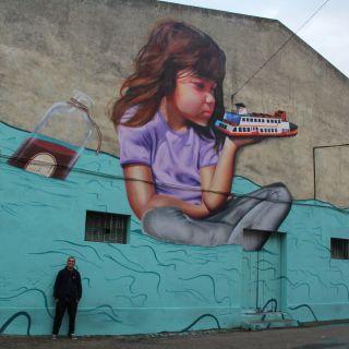 Arte de Rua, Graffiti, Pintura Realista by SMILE