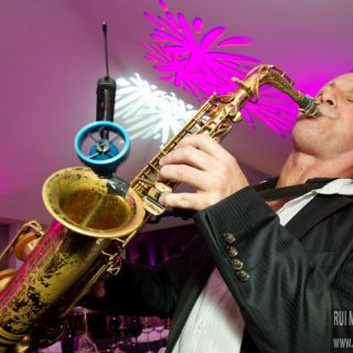 Saxophone player for events by Mark Cain