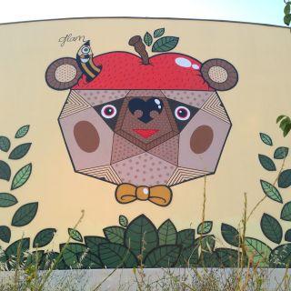 Pintura de Mural - Graffiti - Arte de Rua por Glam