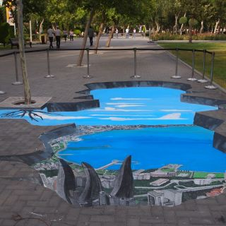3D Street Painting by Street Painting Italia