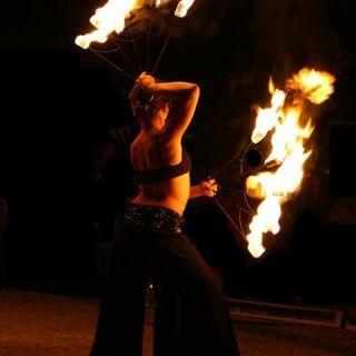 Espectáculo de Fogo por Wild Fire