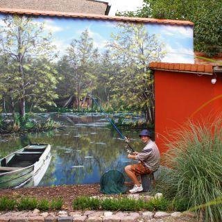 Mural Painting por Mario Winkler