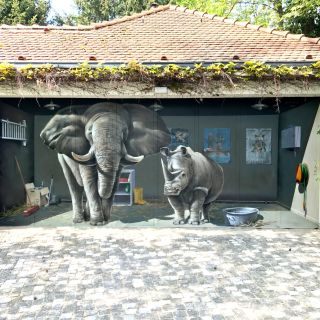 Spraypainting Optical Illusions von Mario Winkler