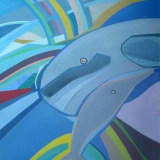 Pintura em tela por Ângela Monteiro