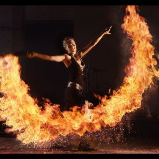 Fire Show by Flamba
