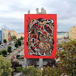Arte de Rua / Pintura de Murais by THECAVER