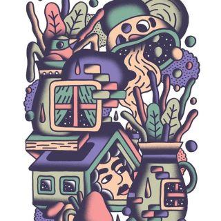 Ilustração/Art prints by THECAVER