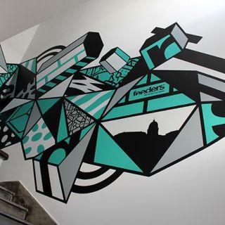 Pintura de parede interior ou exterior by THECAVER