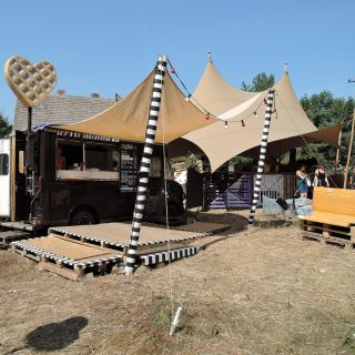 Stall / bar design by Falk Land