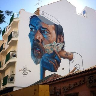 Wall Painting por Belin