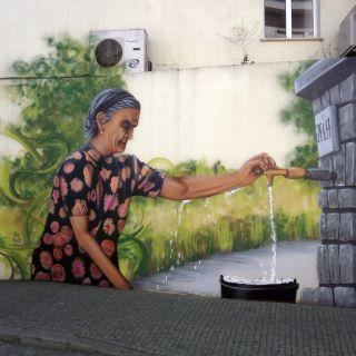 Arte de Rua/ Pintura de Graffiti by Zela