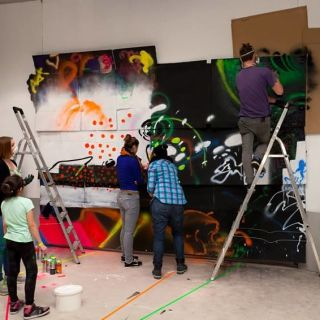 Graffiti Workshops by KJ263