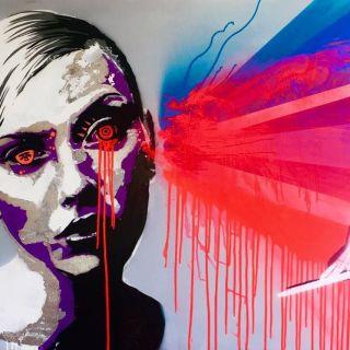 Live Painting von Shev Lunatic
