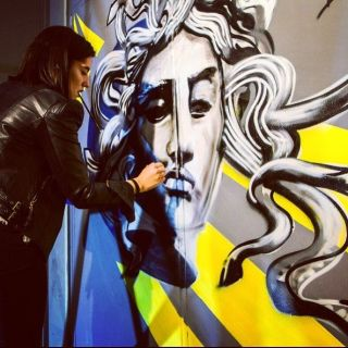Live Painting by Shev Lunatic