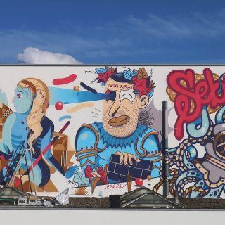 Graffiti e Pintura de Murais por Oker
