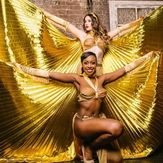 Burlesque Showgirls by The Folly Mixtures