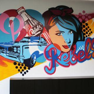 Wall Painting von BustArt