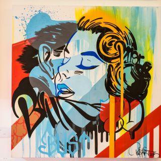 Canvas Painting von BustArt