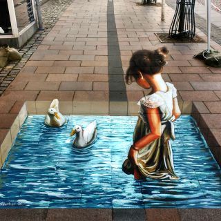 Anamorphic 3D paintings  von Carlosalberto GH