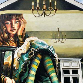 Hyperrealistic murals von Carlosalberto GH