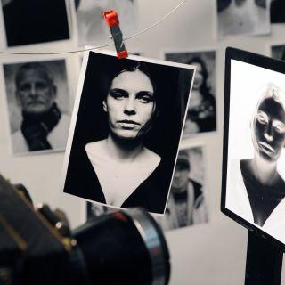 Analoge Sofortbildphotographie von Darkbox Camera