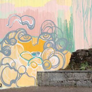 Pintura de Mural por Ângela Monteiro