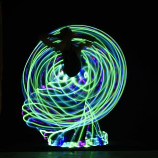 Hula Hoop and LED Hoop Shows von Nina Hula