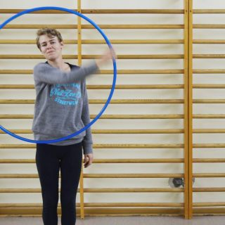 Hoop Dance Performance por Annik