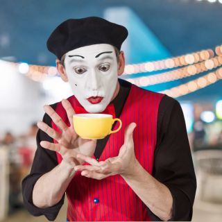 Mime and Comedy for events by Alexander Simon