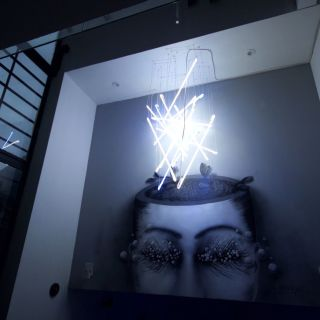 Muralism with light by Carolina Amaya - Camaya