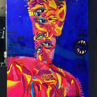 Colorful murals for indoors and outdoors by Carolina Amaya - Camaya