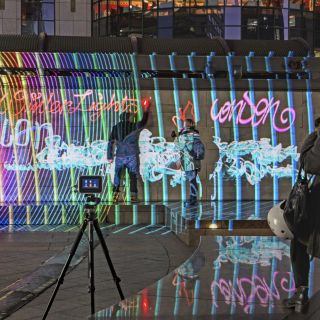 LumaPaint - Interactive Light Graffiti von Lichtfaktor
